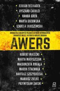 Okładka antologii opowiadań - Awers